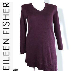 EILEEN FISHER Merino Wool Tunic Dress